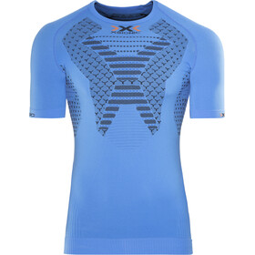 X-Bionic Twyce Running Shirt SS Herre french blue/black